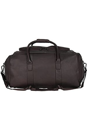 """Kenneth Cole Duff Guy Colombian Leather 20"""" Single Compartment Top Load Travel Duffel Bag"""