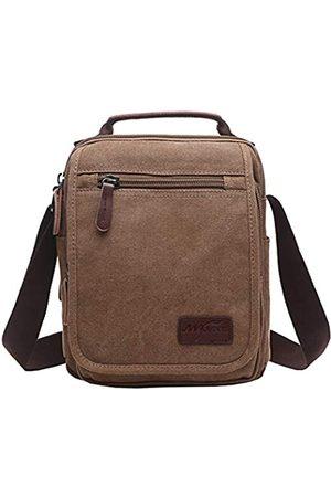 mygreen Herren Multifunktionale Canvas Schultertasche Handtasche Multi-Taschen Business Kuriertaschen Outdoor Sports Over Shoulder Crossbody Seitentasche