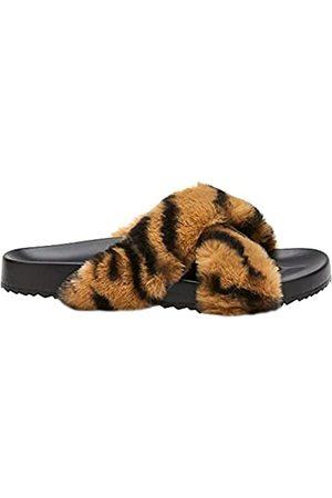 Matisse Damen Stiefel - Jahreszeiten., (Hellbraunes Zebramuster)