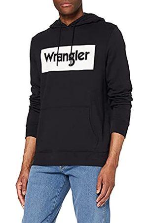 Wrangler Herren Sweatshirts - Herren Logo Hoodie Kapuzenpullover