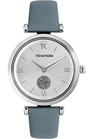 Trendy Kiss Damen Analog Quarz Uhr mit Leder Armband TC10139-03