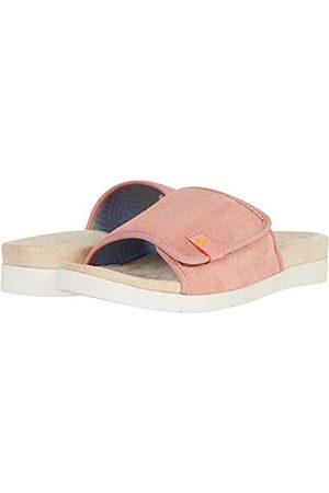 Spenco Charlotte Slide, Pink (Coral Cloud)