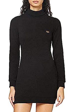 Gianni Kavanagh Damen Freizeitkleider - Damen Black Core Turtleneck Dress Kleid