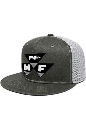 Zrkmh Herren Vintage Stickerei Trucker Hat Massey -Ferguson Farm-Traktor Caps Einstellbare Baseball Cap Fashion Logo Snapback Dad Hüte - Gr�n - Einheitsgröße