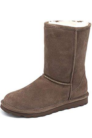 Bearpaw Elle Kurzschaft Stiefel für Damen, exklusive Farben mit Fleckenschutz-Behandlung, (Seal Brown)