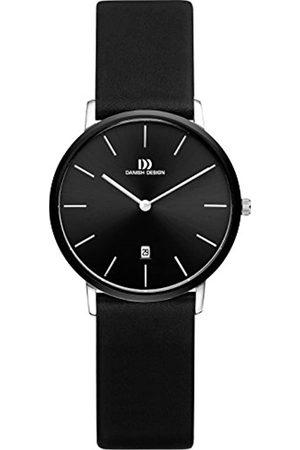 Danish Design Damen Analog Quarz Uhr mit Leder Armband IV13Q1030