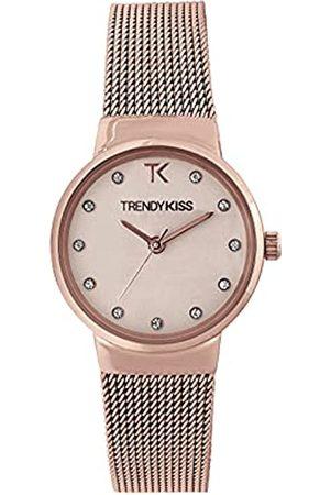 Trendy Kiss Damen Analog Quarz Uhr mit Edelstahl Armband TMRG10065-05