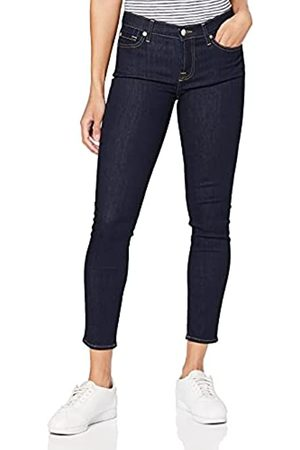 7 for all Mankind Damen The Crop Skinny Jeans