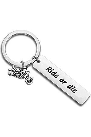 MYOSPARK Myspark Biker Ride Schlüsselanhänger Racer Adventure Geschenk Ride or Dieb Schlüsselanhänger Paare