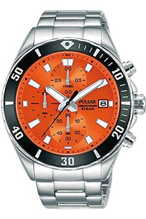 Pulsar Herren Analog Quarz Uhr mit Edelstahl Armband PM3191X1