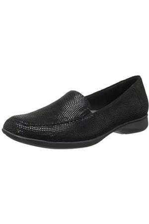 FrenchTrotters Women's Jenn Mini Loafer,Black
