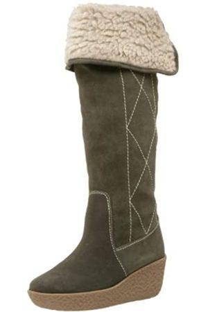 Deer Stags Envy Damen Stiefel mit Keilabsatz, Grün (kiefer)