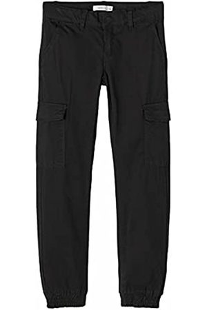 NAME IT Mädchen NKFSEA TWITHILSES Ancle Cargo Pant NOOS Hose, Black