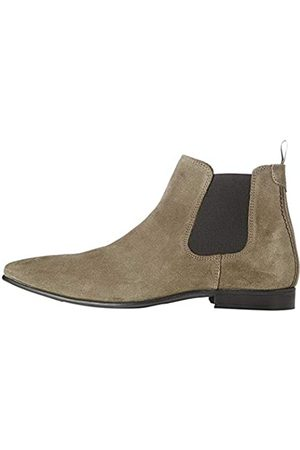FIND Albany Herren, Chelsea Boots, Braun (Stone)