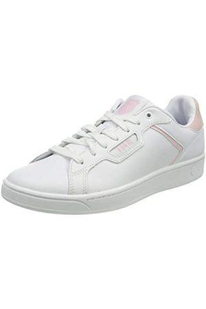 K-Swiss Damen CLEAN Court II CMF Sneaker, White/Parfait PINK