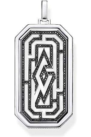 Thomas Sabo Unisex-Anhänger Labyrinth 925 Sterlingsilber PE866-643-11