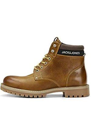 JACK & JONES Male Stiefel Jungs Leder 38Honey