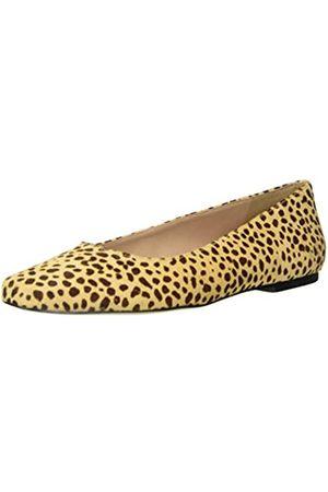 Steve Madden Byra-l Damen Pantoletten, Braun (Leopard)