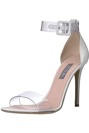 Sjp Damen Lively Clear Strap Sandale, Weiá (Milk Nappa Leather)