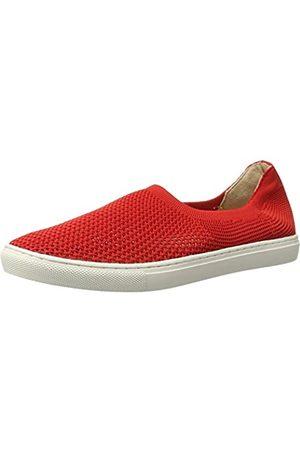 JSLIDES Women's Carol Fashion Sneaker Red 9 M US