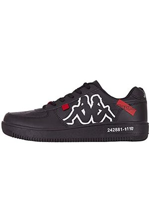 Kappa Unisex-Erwachsene BASH OL Sneaker, 1110 Black/White