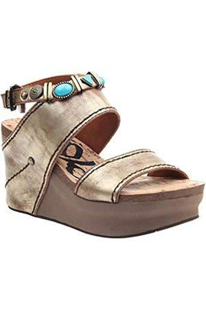 OTBT Damen Sandalen mit Layover Heels