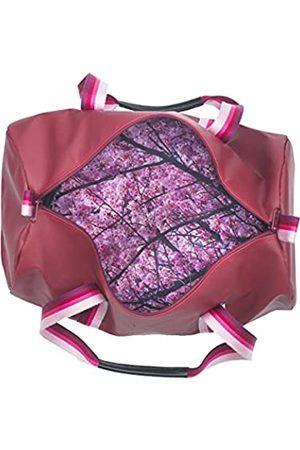 Boarding Pass Lifestyle Carryall Duffel Bag (Pink) - CARRYCHERRY