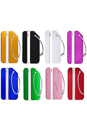 USLR Gepäckanhänger, aus Aluminium, Reise-Etiketten, Gepäck