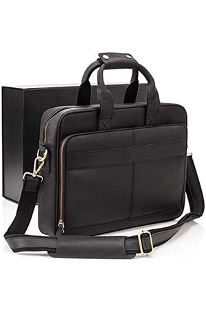 Luxorro Leather Briefcases For Men | Soft