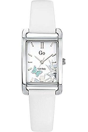GO Girl Only Damen Analog Quarz Uhr mit Leder Armband 699121