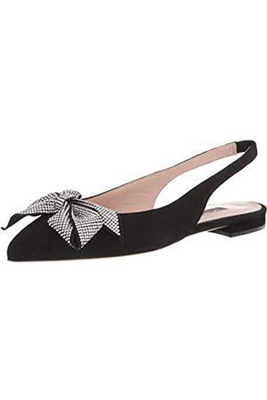 Sjp Damen Ballerinas, (Black Satin)