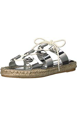 Dolce Vita Women's Vana Espadrille Sandal, Silver Leather