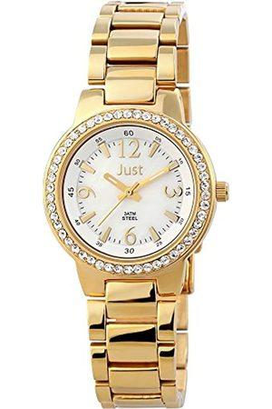 Just Watches Damen-Armbanduhr XS Analog Quarz Edelstahl 48-S3976A-GD-PL