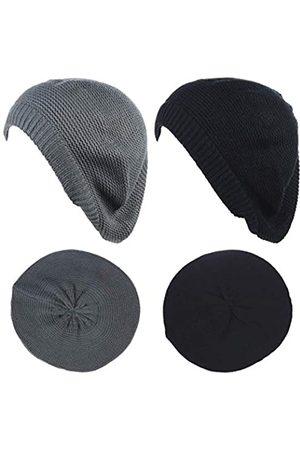 BSB Damen Hüte - JTL Baskenmütze für Damen, modisch, leicht, gestrickt