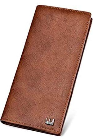 SUMGOGO Geldbörse aus echtem Leder mit Reißverschluss, Münzgeldbörse, Clutch, Handtasche