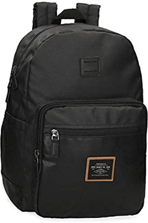 Pepe Jeans Pathway Laptop-Rucksack 32x44x15 cms Baumwolle und PU 15