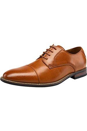 JOUSEN Herren elegante Schuhe Mode Herren Oxfords formelle Business Schuhe Modern Derby Oxford, (Zehenkappe Gelb )