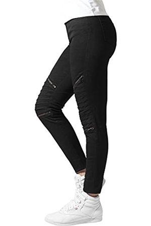 Urban classics Damen Ladies Stretch Biker Pants Hose