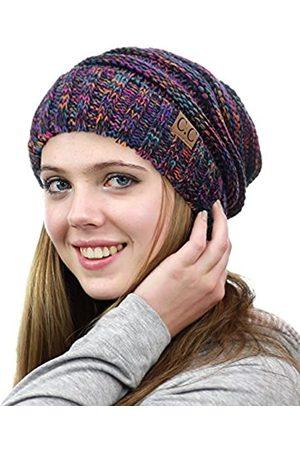NYFASHION101 Exklusive große Lose bauschige Winter Strickmütze