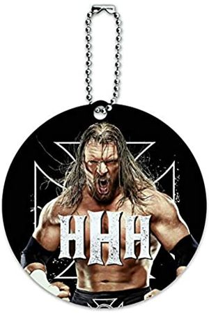 Graphics and More WWE Triple H The Game Rundes Gepäckanhänger für Koffer