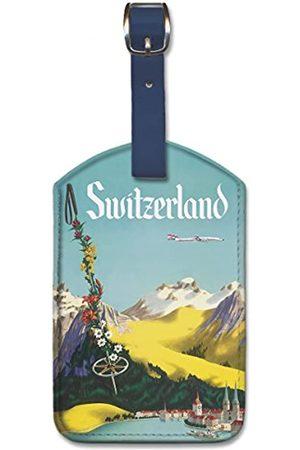 Pacifica Island Art Gepäckanhänger aus Kunstleder – Schweiz