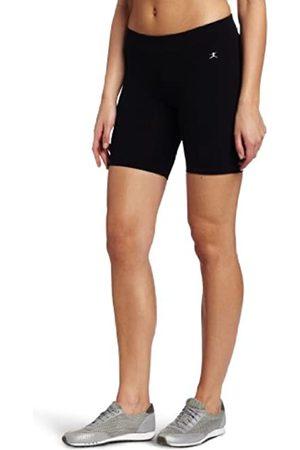 Danskin Women's Essentials Seven Inch Bike Short, Black