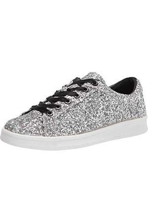 Rampage Womens Holly Sneaker, Silver Glitter