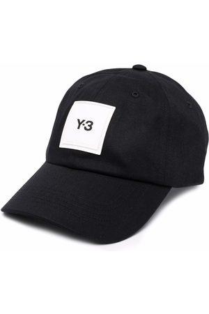 Y-3 Baseballkappe mit Logo-Patch
