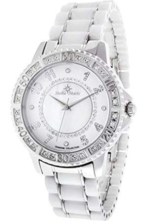 Stella Maris Damen Analog Quarz Uhr mit Metall Armband STM13G440