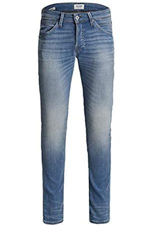 JACK & JONES Male Slim Fit Jeans Glenn Fox JJ 241 Indigo Knit 3134Blue Denim
