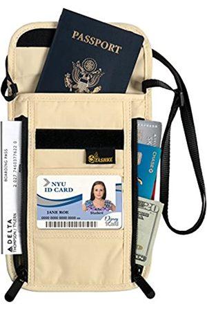 Tashke Reisetaschen - RFID Passport Hals versteckter Sicherheits Travel Wallet Tasche Brieftasche