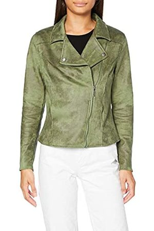 Garcia Women's Gs000890 Faux Leather Jacket, Multicoloured