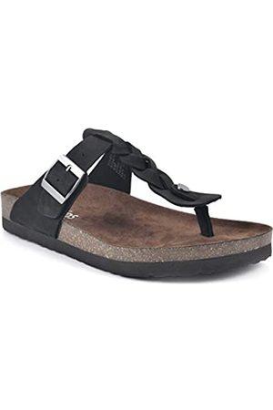 White Mountain Damen Handle Flache Sandale
