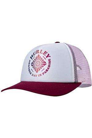 Hurley Damen Baseball Cap - Flat Brim Snapback Foam Trucker Hat - Blau - Einheitsgröße